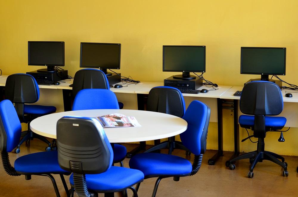 Foto do Campus da Fatec Bebedouro